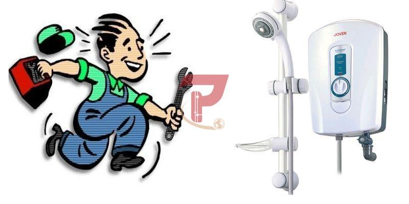 Sửa bình nóng lạnh quận 1, sửa máy nước nóng ariston, centon, panasonic, electrolux