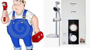 Sửa máy nước nóng quận 12 Ariston Centon Panasonic Ferroli Alpha Joven